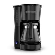 Black & Decker 5-Cup Stainless Steel Coffee Maker; Black