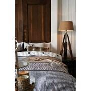 Gracie Oaks Roquefort 100pct Cotton 3 Piece Duvet Set