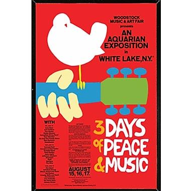 Frame USA 'Woodstock Red' Framed Graphic Art Print Poster