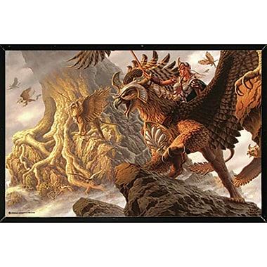 Frame USA 'Torin's Quest' Framed Graphic Art Print Poster