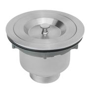 GoldenVantage Multi Layer Round 3.5'' Lift and Turn Kitchen Sink Drain