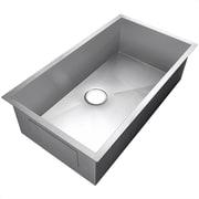 GoldenVantage 33'' x 22'' Undermount Kitchen Sink