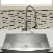 GoldenVantage 33'' x 22'' Apron Kitchen Sink