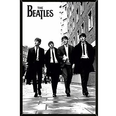 East Urban Home 'The Beatles; Black Plaque Framed