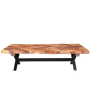 Loon Peak Fossil Mountain Coffee Table