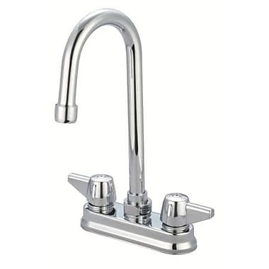 Just Manufacturing Double Handle Standard Kitchen Faucet