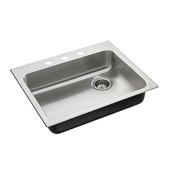 Just Manufacturing 21'' L x 25'' W Drop-In Kitchen Sink w/ Faucet