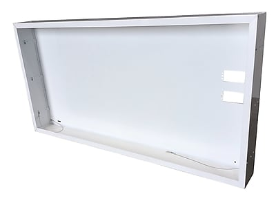 NICOR Lighting Surface Mount Frame Kit for LED Troffer; 13'' H x 48.88'' W x 5.13'' D