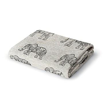 World Menagerie Netea Woven Blanket; 60'' W x 80'' L