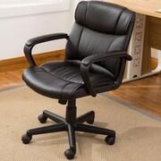 Symple Stuff Ergonomic Computer Padded Armrest Mid-Back Office Desk Chair