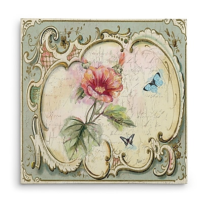 Ophelia & Co. 'Classical Flower IV' Oil Painting Print on Wrapped Canvas; 24'' H x 24'' W