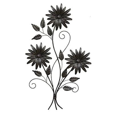 August Grove Modern Daisy Bouquet Wall D cor