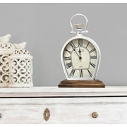 Ophelia & Co. Modern Metal Tabletop Clock