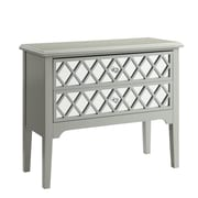 Red Barrel Studio Binney Contemporary Cabinet; Gray