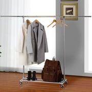 Rebrilliant Commercial Grade Collapsible 74.8'' W Garment Rack