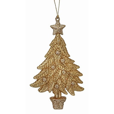 The Holiday Aisle Glitter Christmas Tree Ornament