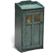 Sunny Designs Sedona Manual Lift Trash Box; Rustic Green