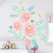 SimpleShapes 25 Piece Spring Garden Flowers Wall Decal Set