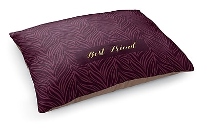 Kavka Best Friend Pet Bed Pillow; Purple
