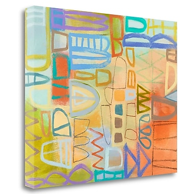 Tangletown Fine Art 'Duet Series II' Print on Wrapped Canvas; 23'' H x 28'' W