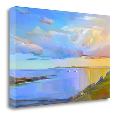 Tangletown Fine Art 'Summer Cove' Print on Wrapped Canvas; 20'' H x 29'' W
