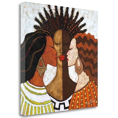 Tangletown Fine Art 'Every Woman' Print on Wrapped Canvas; 30'' H x 30'' W