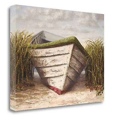 Tangletown Fine Art 'Gloucester Skiff' Print on Wrapped Canvas; 28'' H x 36'' W