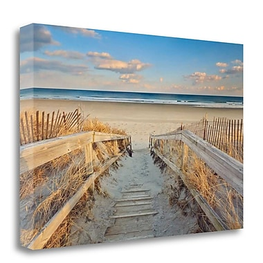 Tangletown Fine Art 'Waiting for Summer' Photographic Print on Wrapped Canvas; 32'' H x 48'' W