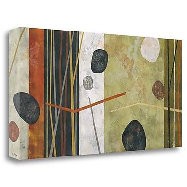 Tangletown Fine Art 'Sticks and Stones III' Graphic Art Print on Wrapped Canvas; 20'' H x 40'' W