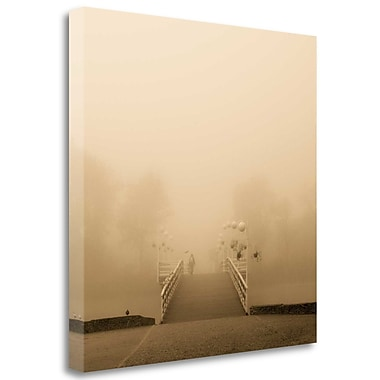 Tangletown Fine Art 'Lost' Photographic Print on Wrapped Canvas; 24'' H x 24'' W