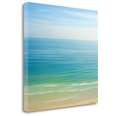 Tangletown Fine Art 'Seacoast 121' Graphic Art Print on Wrapped Canvas; 30'' H x 30'' W