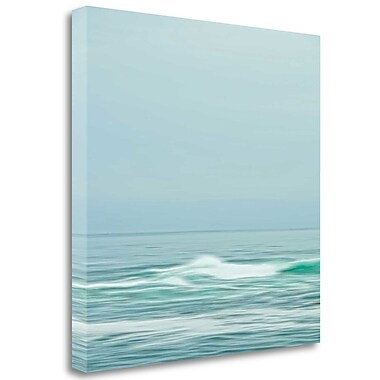 Tangletown Fine Art 'Seacoast 601' Graphic Art Print on Wrapped Canvas; 30'' H x 30'' W
