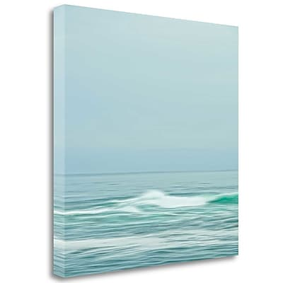 Tangletown Fine Art 'Seacoast 601' Graphic Art Print on Wrapped Canvas; 35'' H x 35'' W