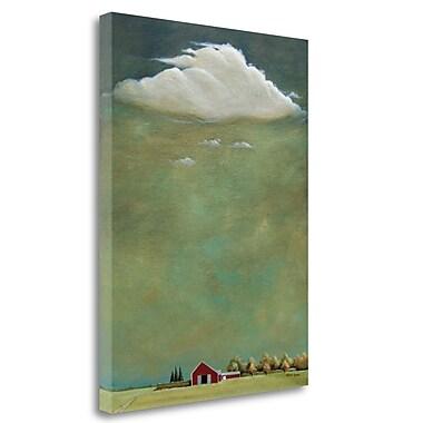 Tangletown Fine Art 'Bridgehampton' Print on Wrapped Canvas; 28'' H x 21'' W