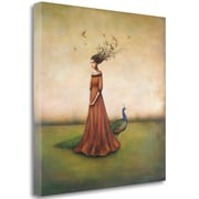 Tangletown Fine Art 'Empty Nest Invocation' Graphic Art Print on Wrapped Canvas; 35'' H x 35'' W