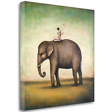 Tangletown Fine Art 'Eternal Companions' Graphic Art Print on Wrapped Canvas; 30'' H x 30'' W