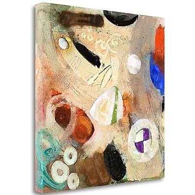 Tangletown Fine Art 'When We Think 2' Print on Wrapped Canvas; 35'' H x 35'' W