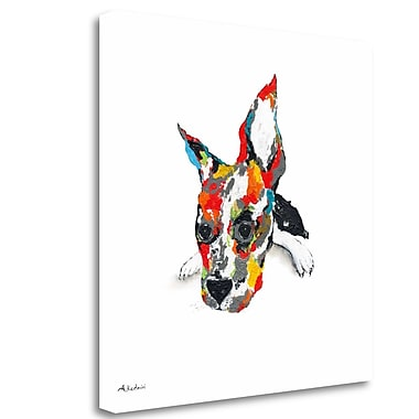 Tangletown Fine Art 'Cesar' Print on Wrapped Canvas; 25'' H x 25'' W