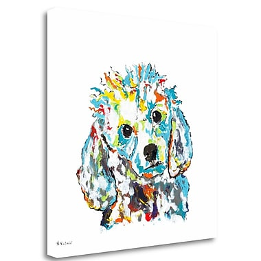 Tangletown Fine Art 'Gucci' Print on Wrapped Canvas; 35'' H x 35'' W
