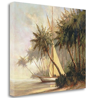 Tangletown Fine Art 'Leaving Out' Print on Wrapped Canvas; 28'' H x 33'' W