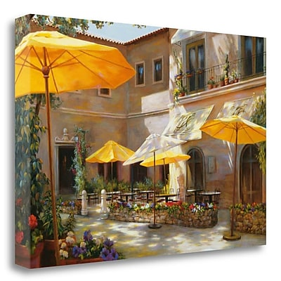 Tangletown Fine Art 'Closed on Monday' Photographic Print on Wrapped Canvas; 19'' H x 28'' W