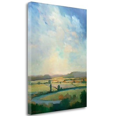 Tangletown Fine Art 'First Turn' Print on Wrapped Canvas; 28'' H x 21'' W