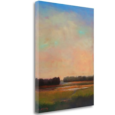 Tangletown Fine Art 'Shifting Tide' Print on Wrapped Canvas; 28'' H x 21'' W