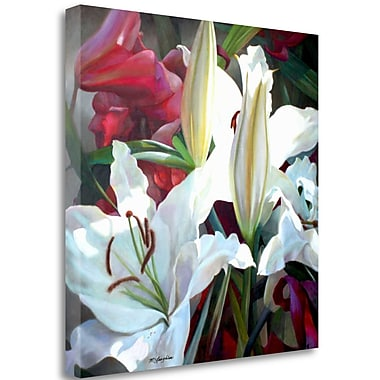 Tangletown Fine Art 'Ruffles and Trim' Graphic Art Print on Wrapped Canvas; 35'' H x 35'' W