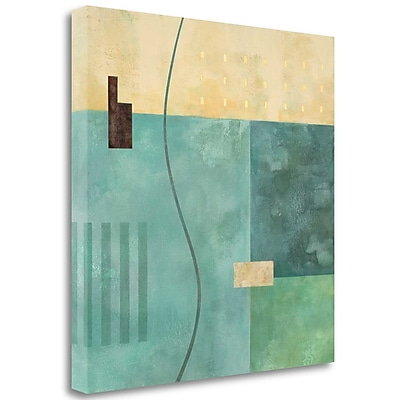 Tangletown Fine Art 'Detour' Graphic Art Print on Wrapped Canvas; 35'' H x 35'' W