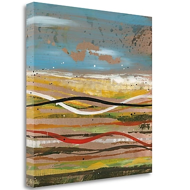 Tangletown Fine Art 'High Plains 2' Print on Wrapped Canvas; 25'' H x 25'' W