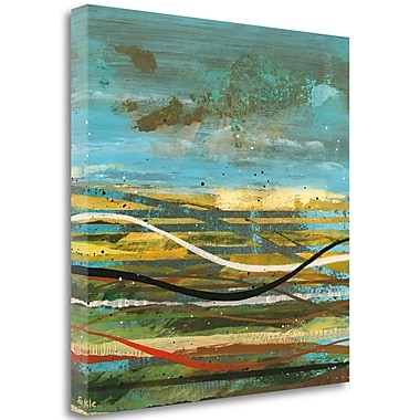 Tangletown Fine Art 'High Plains 3' Print on Wrapped Canvas; 35'' H x 35'' W