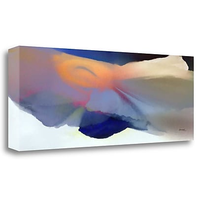 Tangletown Fine Art 'Embrace 2' Graphic Art Print on Wrapped Canvas; 14'' H x 40'' W