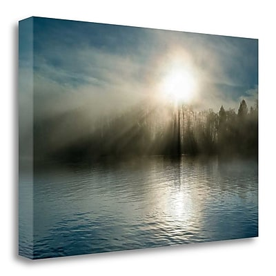 Tangletown Fine Art 'Rising above the Water' Photographic Print on Wrapped Canvas; 26'' H x 40'' W