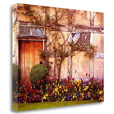 Tangletown Fine Art 'Shakespeares House' Graphic Art Print on Wrapped Canvas; 21'' H x 27'' W